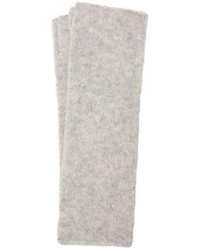 Кашемировые серые перчатки Not Shy