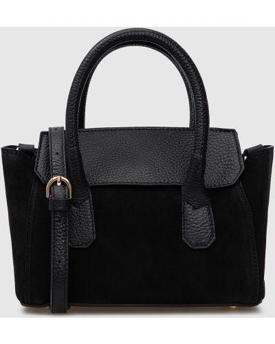 Замшевая сумка - черная Gianni Notaro