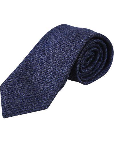Niebieski krawat Lardini