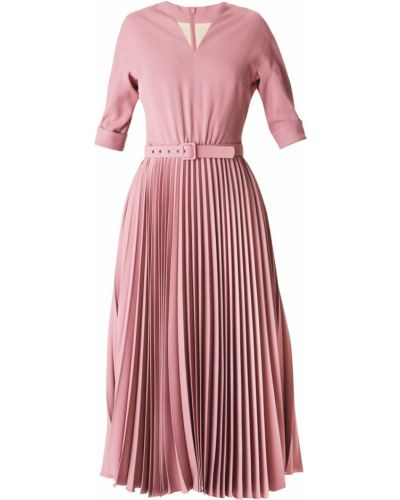 Платье с поясом розовое Alexander Terekhov