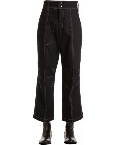 Czarne jeansy Vejas