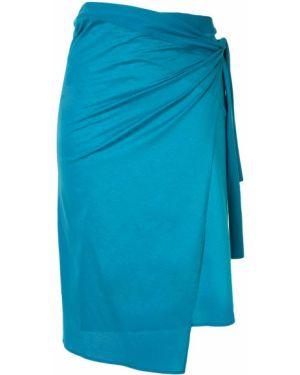 Pareo bawełniany - niebieski Eres