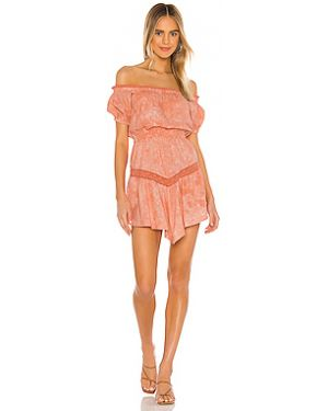 Платье с поясом эластичное Tularosa