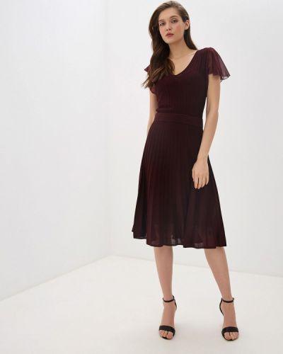 Повседневное платье бордовый красный Max&co