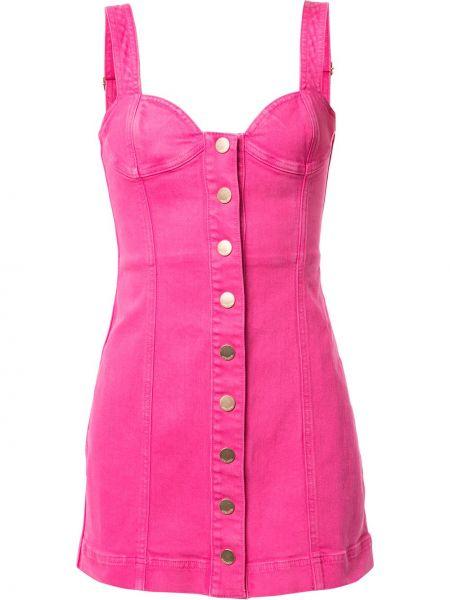 Платье мини джинсовое на пуговицах Alice Mccall