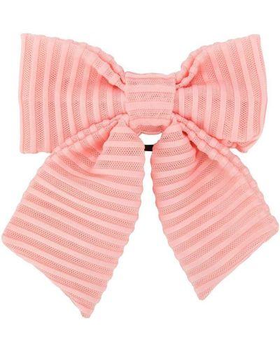 Розовая резинка для волос на резинке с бантом Wauw Capow