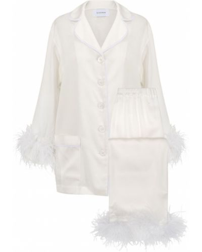 Biała piżama Sleeper