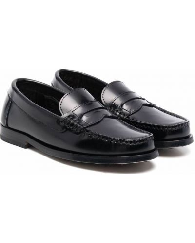 Czarne loafers Gallucci Kids
