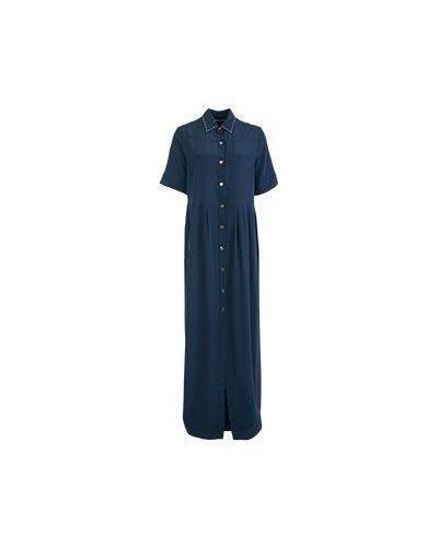 Летнее платье синее Marco Bologna