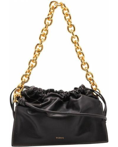 Czarna torba na ramię Yuzefi