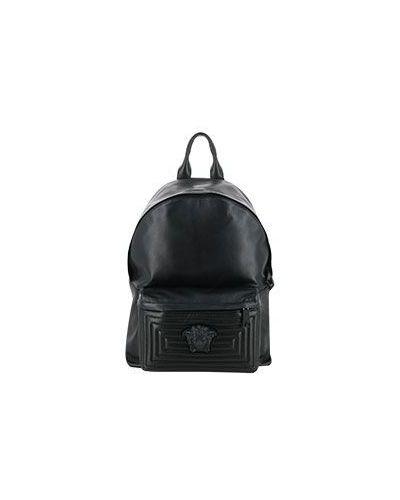Черный рюкзак Versace
