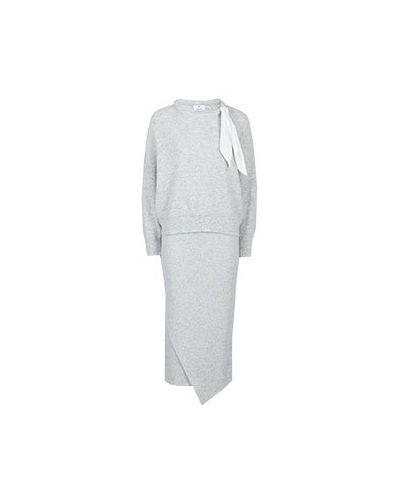 Кашемировый костюм - серый Allude