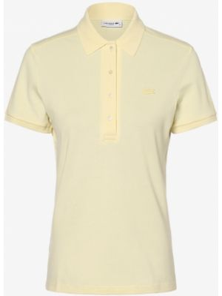 T-shirt - żółta Lacoste