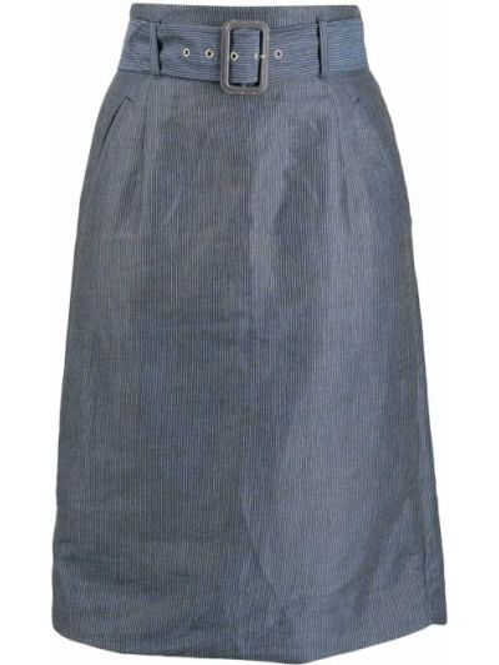 Синяя юбка с поясом Vivienne Westwood Pre-owned