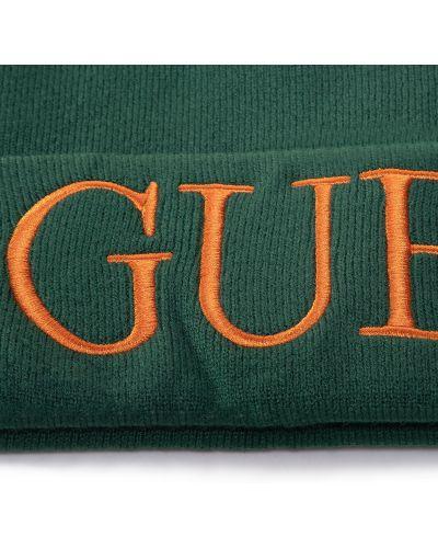 Шапка - зеленая Guess