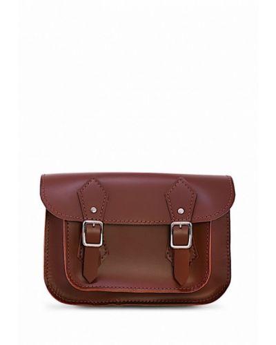 Коричневая кожаный сумка Grace