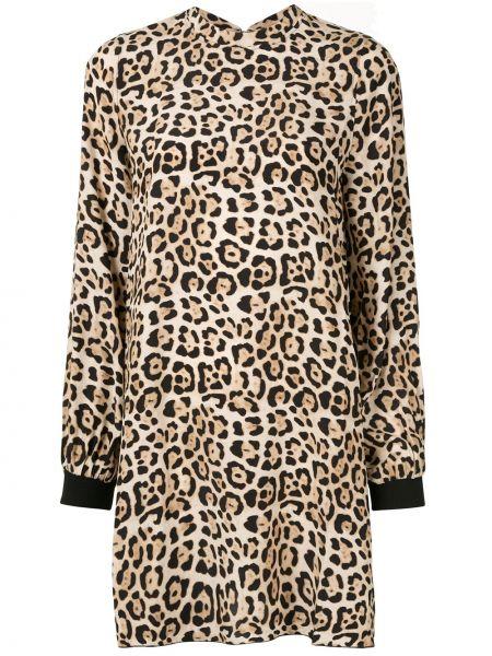 Платье мини макси леопардовое Atm Anthony Thomas Melillo