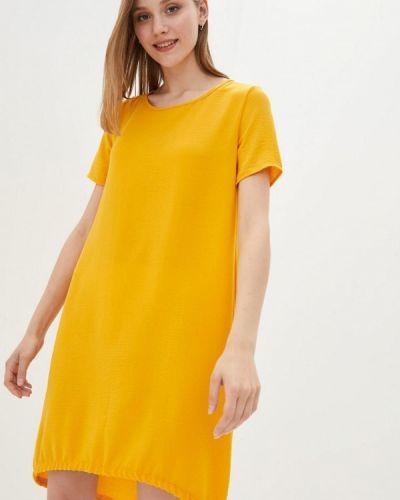 Повседневное желтое платье Magnet