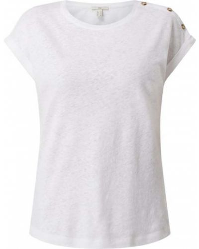 Biała bluzka bawełniana Edc By Esprit
