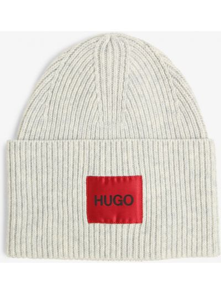 Szara czapka Hugo