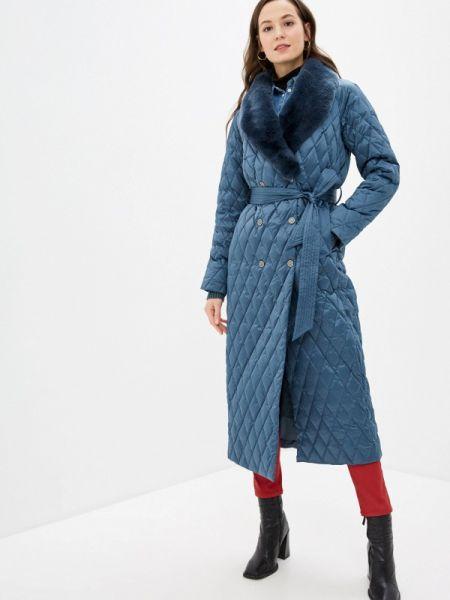Зимняя куртка весенняя синий Naumi