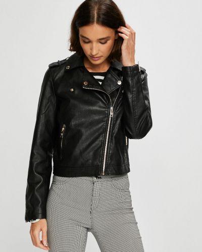 Кожаная куртка облегченная с карманами Silvian Heach