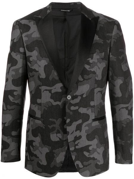 Пиджак с карманами камуфляжный Tonello