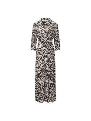 Платье из вискозы - белое Heidi Klein