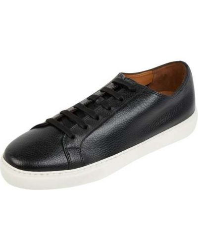 Czarne sneakersy skorzane Gordon & Bros
