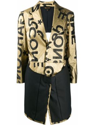 Длинное пальто - желтое Comme Des Garçons