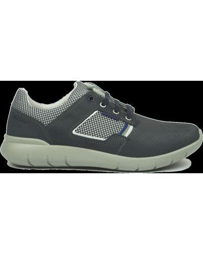 Кожаные кроссовки - синие Grisport