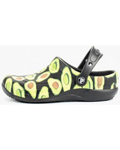Сабо черные Crocs