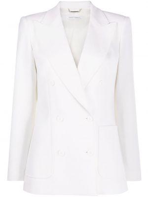 Шерстяной пиджак - белый Alberta Ferretti
