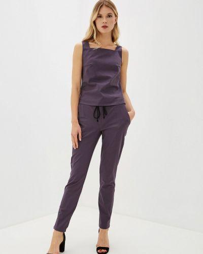 Брючный костюм фиолетовый Raya