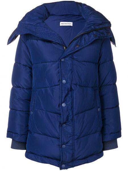 Куртка с капюшоном дутая оверсайз Balenciaga