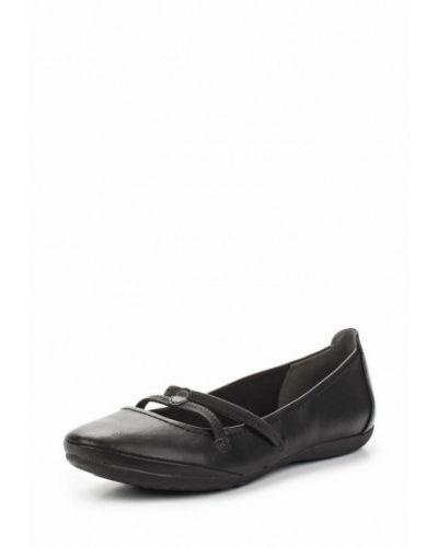 Черные балетки Tamaris