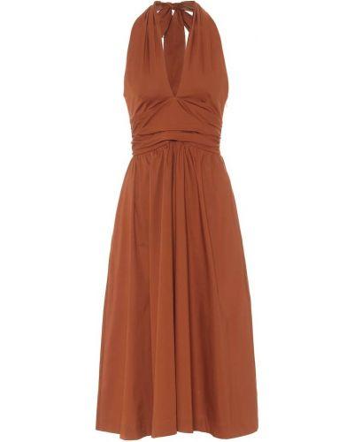 Платье из поплина Staud