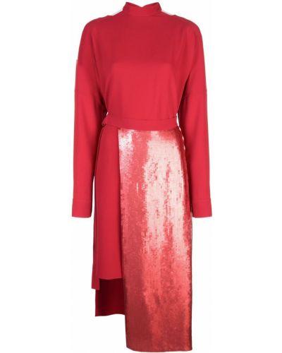 Платье миди с пайетками на молнии Tibi
