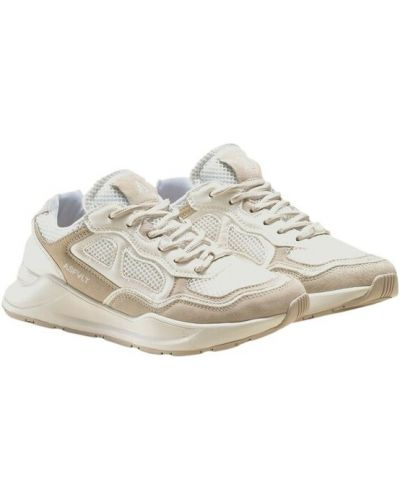 Beżowe sneakersy do biegania Asfvlt
