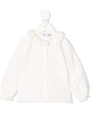 Белая блуза Knot