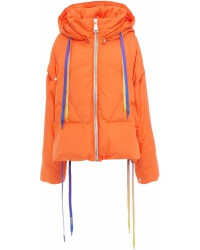 Pomarańczowa kurtka pikowana Khrisjoy