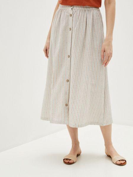 Бежевая юбка Blendshe