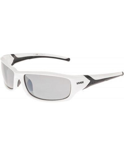 Солнцезащитные очки черные белый Uvex