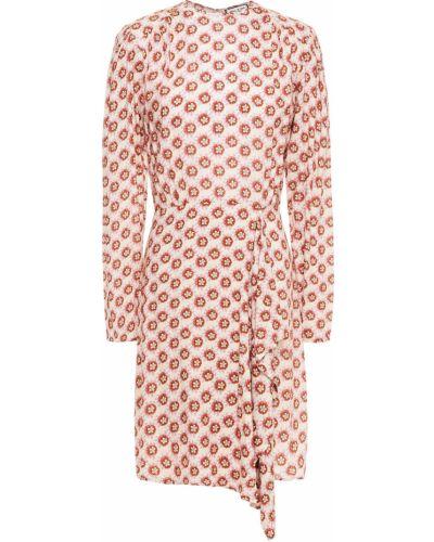 Платье с запахом - бежевое Paul & Joe