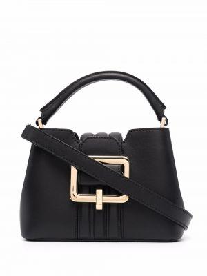 Черная сумка на молнии Bally