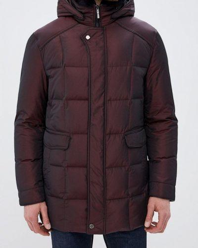 Зимняя куртка осенняя бордовый Riggi
