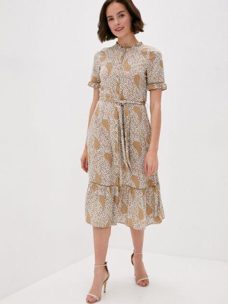 Коричневое повседневное платье Marks & Spencer