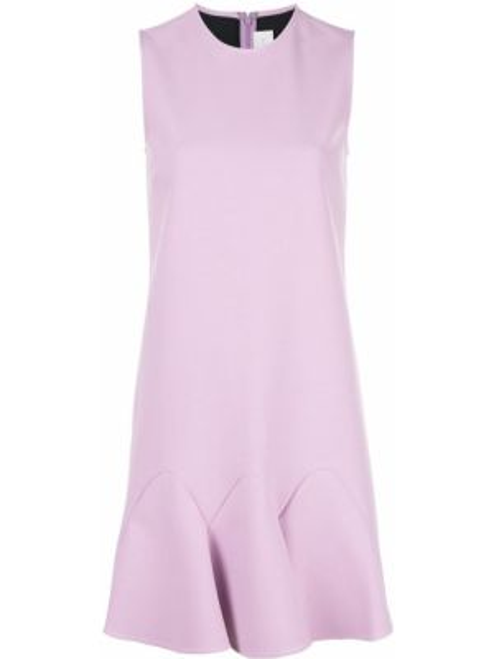 Платье мини на молнии трапеция Victoria, Victoria Beckham
