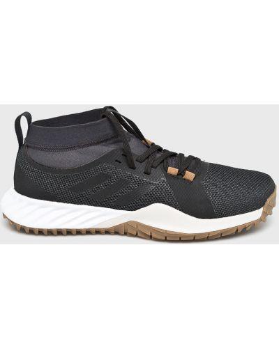Черные кроссовки текстильные Adidas Performance