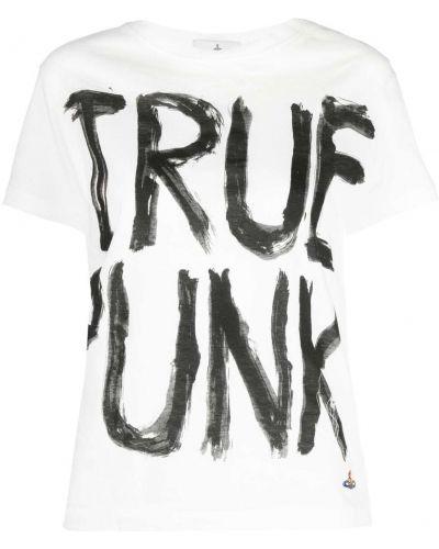 Белая прямая футболка Vivienne Westwood
